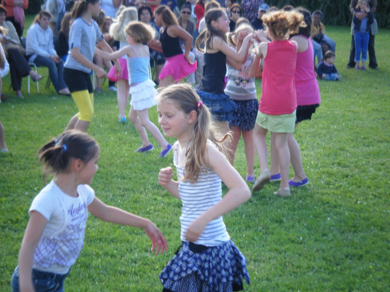 Des danseuses émérites
