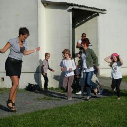 Mélanie mène la danse...