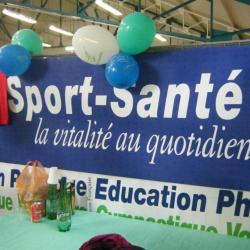Le stand Sport-Santé du forum !