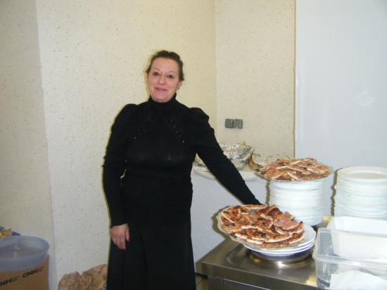 Edith en cuisine :-)